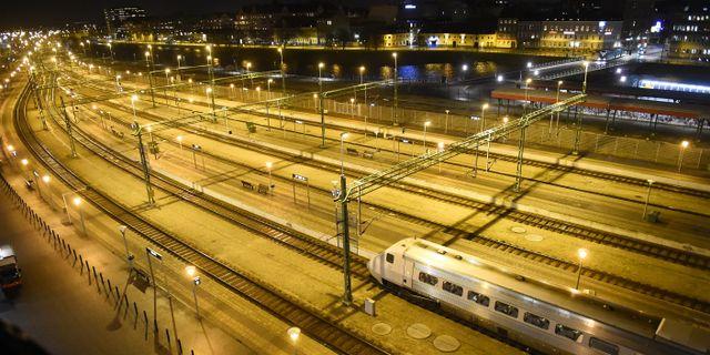 Centralstationen i Malmö. Emil Langvad/TT / TT NYHETSBYRÅN