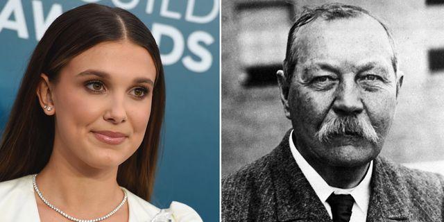 Stranger Things-stjärnan Millie Bobby Brownspelar huvudrollen i Enola Holmes/ Sir Arthur Conan Doyle TT/AP
