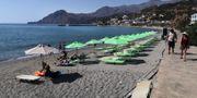 Parasoller på Kreta.  TT