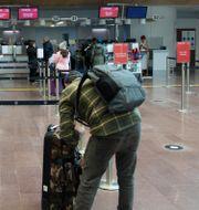 Glest bland resenärerna på Arlanda Fredrik Sandberg/TT / TT NYHETSBYRÅN