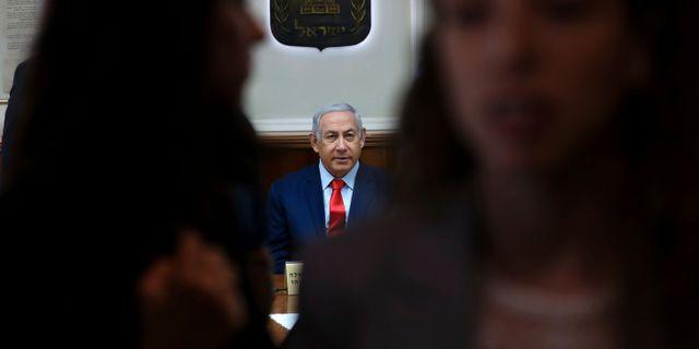 Benjamin Netanyahu. Gali Tibbon / TT NYHETSBYRÅN/ NTB Scanpix