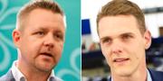 Fredrick Federley och Christofer Fjellner. TT