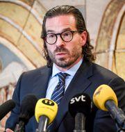 Asap Rockys advokat Slobodan Jovicic. Fredrik Sandberg/TT / TT NYHETSBYRÅN