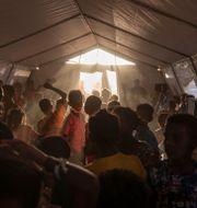 Ett flyktingläger i Sudan, dit många personer från Etiopien tagit sin tillflykt. Nariman El-Mofty / TT NYHETSBYRÅN