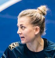 Landslagets Nathalie Hagman.  SEBASTIAN LAMOTTE / BILDBYRÅN