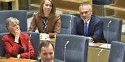 Bild från dagens debatt Claudio Bresciani/TT / TT NYHETSBYRÅN