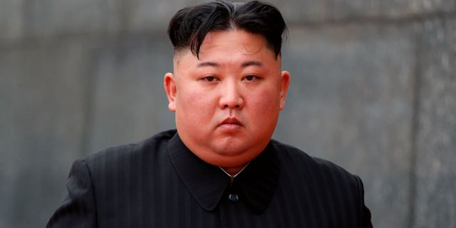 Kim Jong-Un i Hanoi. JORGE SILVA / POOL