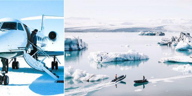 För första gången kan du åka till Antarktis över dagen. Naya Traveler / Curated Journeys