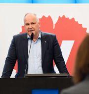 Jonas Sjöstedt. Pontus Lundahl/TT / TT NYHETSBYRÅN
