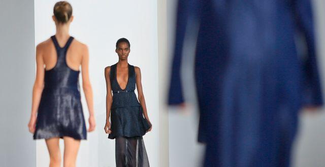 Calvin Klein är ett av modemärkena som säljs på Boozt.  Bebeto Matthews / TT NYHETSBYRÅN