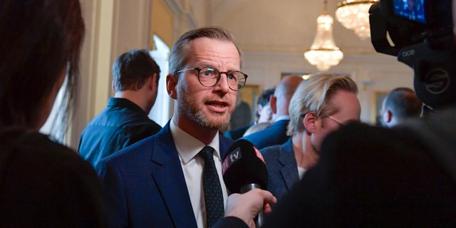 Inrikesminister Mikael Damberg (S).  Jessica Gow/TT / TT NYHETSBYRÅN