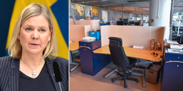 Finansminister Magdalena Andersson (S) TT