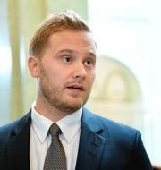 Henrik Vinge. Henrik Montgomery/TT / TT NYHETSBYRÅN