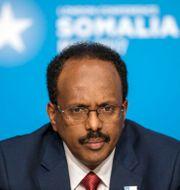 Somalias President Mohamed Abdullahi Mohamed.  Jack Hill / TT NYHETSBYRÅN