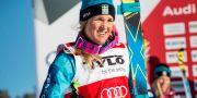 Anna Holmlund under en världscupstävling i Idre februari 2016. Christine Olsson/TT / TT NYHETSBYRÅN