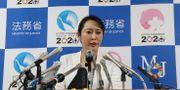 Japans justitieminister Masako Mori. Koji Sasahara / TT NYHETSBYRÅN