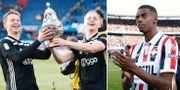 Ajax-spelarnas firande / Alexander Isak.  Bildbyrån