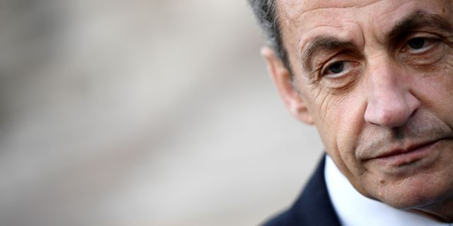 Frankrikes ex-president Nicolas Sarkozy.  FRANCK FIFE / AFP