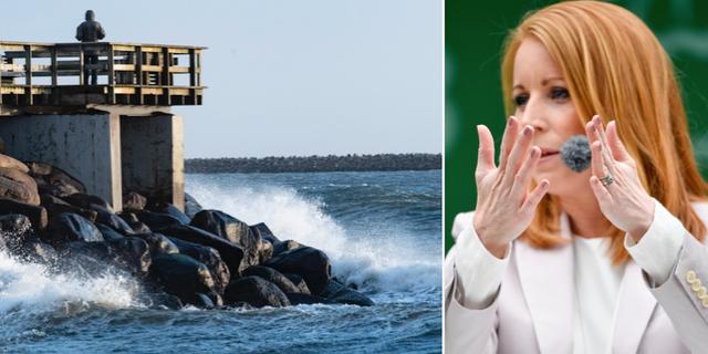 Östersjön/Annie Lööf. TT