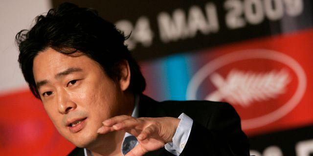 Den koreanske regissören Park Chan-wook.  Francois Mori / TT NYHETSBYRÅN