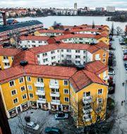 Lägenhetshus i Gröndal. Lars Pehrson/SvD/TT / TT NYHETSBYRÅN