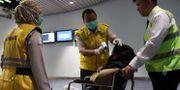 Hälsoscreening på Indonesiens flygplats. HANDOUT / SOEKARNO-HATTA INTERNATIONAL AIR