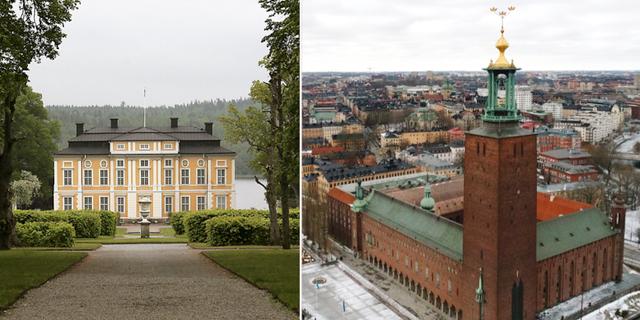 Illustrationsbilder: Sigtuna Slott/Stockholm. TT
