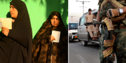 Afghanska kvinnor köar till valurnorna/stora säkerhetsarrangemang har satts in i huvudstaden Kabul. HOSHANG HASHIMI / AFP