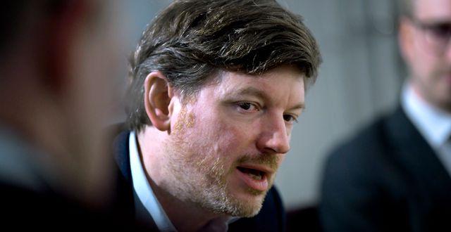 Martin Ådahl. Janerik Henriksson/TT / TT NYHETSBYRÅN