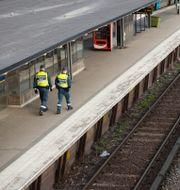 Tunnelbanestation.  Henrik Montgomery/TT / TT NYHETSBYRÅN