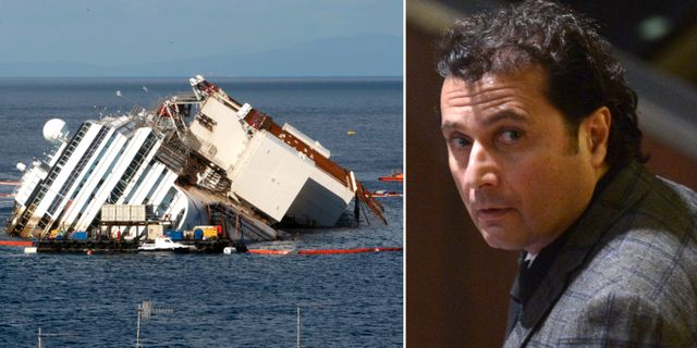 Costa Concordia och Francesco Schettino TT