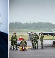 Ellen Molin, chef för Saabs affärsområde Support and Services.  Saab och TT