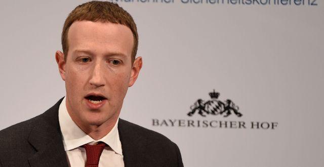 Mark Zuckerberg Jens Meyer / TT NYHETSBYRÅN