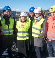 Flera hundra lägenheter byggs i norska Ulven, mars 2019.  Terje Pedersen / TT NYHETSBYRÅN