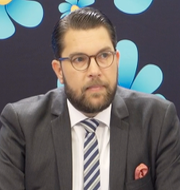Jimmie Åkesson. SVT