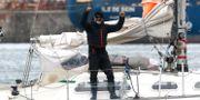 Juan Manuel Ballestero på sin båt i Mar del Plata. Vicente Robles / TT NYHETSBYRÅN