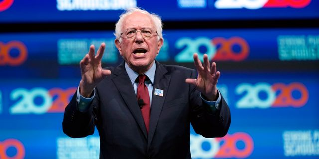 Bernie Sanders David J. Phillip / TT NYHETSBYRÅN