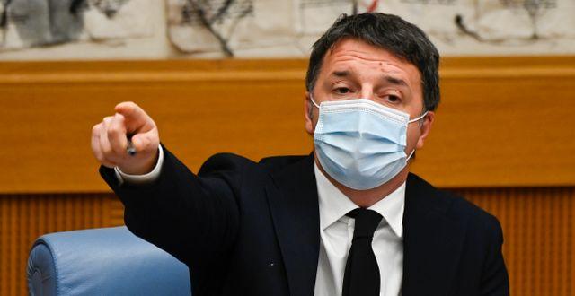 Matteo Renzi. Alberto Pizzoli / TT NYHETSBYRÅN