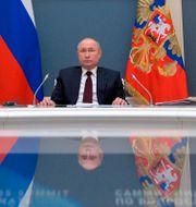 Vladimir Putin, Russia's president. Alexei Druzhinin / TT NYHETSBYRÅN