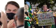 Jair Bolsonaro/Bolsonaro-supporter. TT