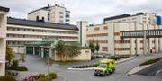 Ambulansintaget vid Akademiska sjukhuset i Uppsala.  Fredrik Persson /TT / TT NYHETSBYRÅN