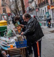 Madrid. Bernat Armangue / TT NYHETSBYRÅN