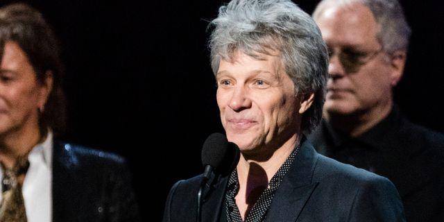 Jon Bon Jovi.  Michael Zorn / TT NYHETSBYRÅN/ NTB Scanpix