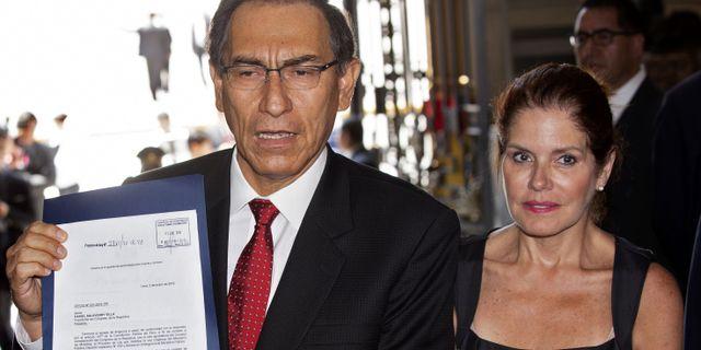 Martín Vizcarra. CRIS BOURONCLE / AFP