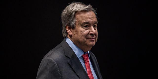 António Guterres. Bernat Armangue / TT NYHETSBYRÅN