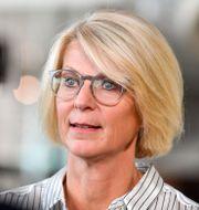 Elisabeth Svantesson (M). Jessica Gow/TT / TT NYHETSBYRÅN