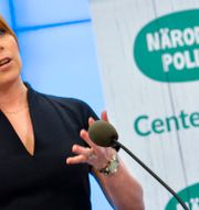 C-ledaren Annie Lööf. TT