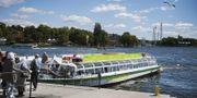 Sightseeingbåt i Stockholm. TT.