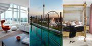 "Upper House i Göteborg har utsetts till Sveriges bästa hotell i TripAdvisors årliga ""Travellers' Choice Awards"". Upper House/Pressbild"