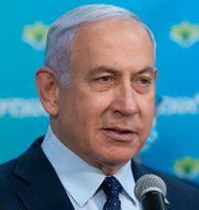 Netanyahu, arkivbild. Alex Kolomoisky / TT NYHETSBYRÅN